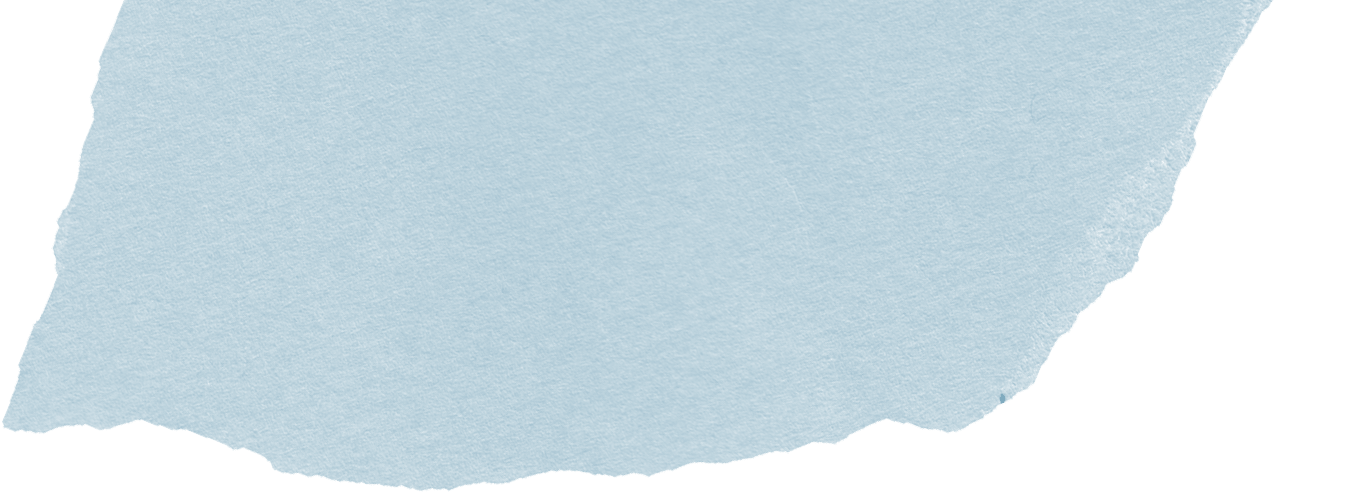 Blaues Papier