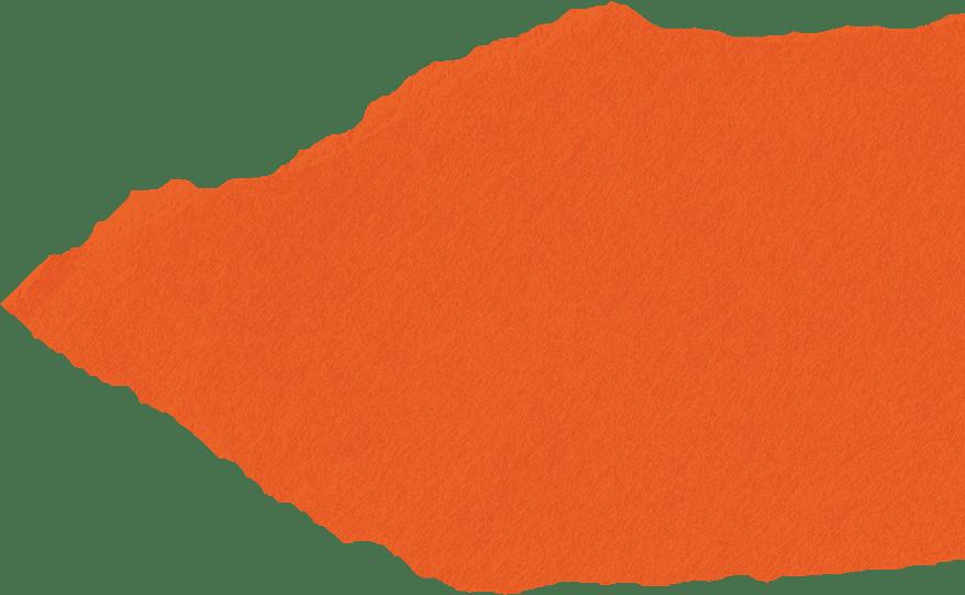 Orangenes Papier